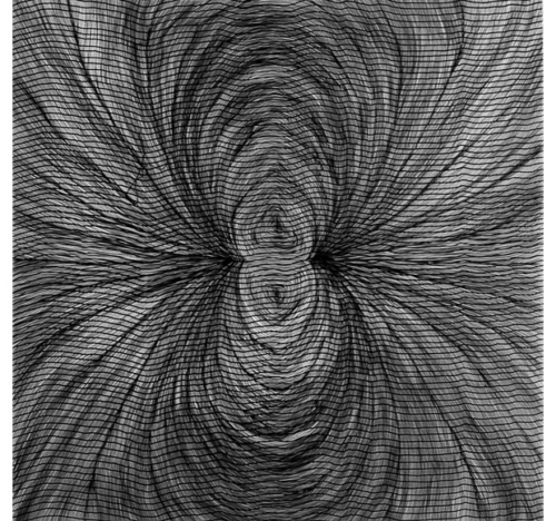 Magnetic Field (spider) Drawing<br>