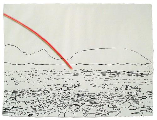 Bláskógaheiði Large Drawing 2<br>