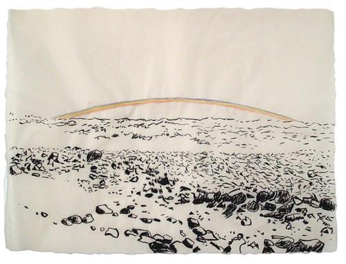 Bláskógaheiði Large Drawing 3<br>