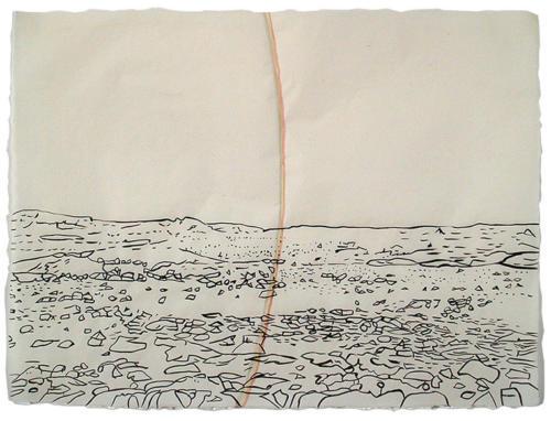 Bláskógaheiði Large Drawing 4<br>